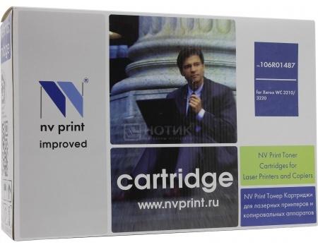Картридж NV Print 106R01487 для Xerox WC 3210/3220 MFP, Черный NV-106R01487