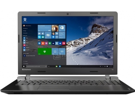 Ноутбук Lenovo IdeaPad 100-15 (15.6 LED/ Celeron Dual Core N2840 2160MHz/ 2048Mb/ HDD 500Gb/ Intel HD Graphics 64Mb) MS Windows 10 Home (64-bit) [80MJ00DSRK]