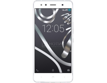 Смартфон BQ Aquaris X5 DS white-silver (Android 5.1/MSM8916 1400MHz/5.0