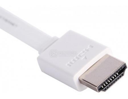 Фотография товара кабель Prolink HDMI (AM) - HDMI (AM) v2.0, 1.5м, Белый PB358W-0150 (45464)