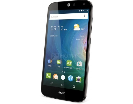 "Смартфон Acer Liquid Z630 Black (Android 5.1/MT6735 1300MHz/5.5"" 1280x720/2048Mb/16Gb/4G LTE  ) [HM.HQEEU.002] от Нотик"