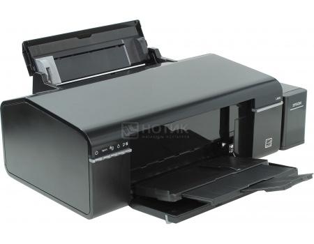 Принтер пьезоэлектрический струйный Epson L805 A4, 38/37стр/мин, USB, WiFi Черный C11CE86403