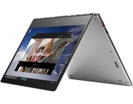 Ультрабук Lenovo IdeaPad Yoga 900s-12 (12.5 IPS (LED)/ Core M7 6Y75 1200MHz/ 8192Mb/ SSD 256Gb/ Intel HD Graphics 515 64Mb) MS Windows 10 Professional (64-bit) [80ML005ERK]