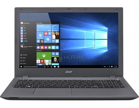 Ноутбук Acer Aspire E5-573-P0LY (15.6 LED/ Pentium Dual Core 3556U 1700MHz/ 4096Mb/ HDD 500Gb/ Intel HD Graphics 64Mb) MS Windows 10 Home (64-bit) [NX.MVHER.057]