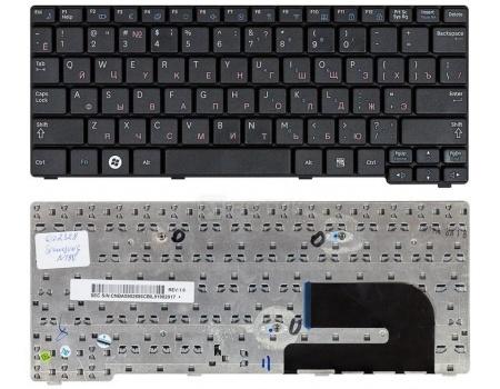 Клавиатура для ноутбука Samsung N140 N144 N145 N148 N150 N150 NB20 NB30 NB30 NC10 Series TopON TOP-99938, Черный