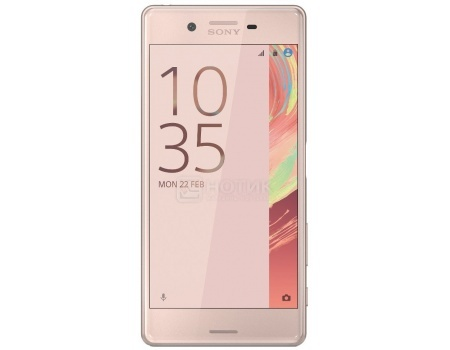 Смартфон Sony Xperia X Rose Gold (Android 6.0 (Marshmallow)/MSM8956 1800MHz/5.0