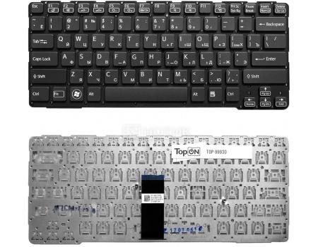 Клавиатура TopON для Sony Vaio SVE14A1, SVE14A1S6R, SVE14A1S1R Series , с черной рамкой, TOP-99930, Черный