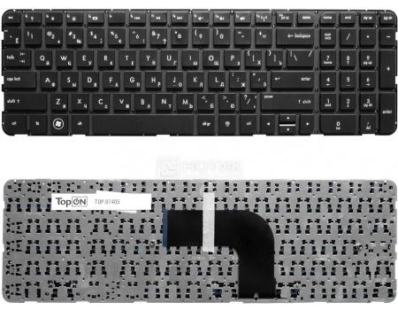 Клавиатура TopON для HP Pavilion DV6-7000, DV6-7050er, DV6-7051er, DV6-7053er, DV6-7055er,TOP-97405 Черный