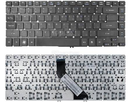 Клавиатура для ноутбука Acer Aspire V5-431 V5-471 V5-471G V5-471PG Series, TopON TOP-95589 Черный russian keyboard for acer aspire v5 v5 531 v5 531g v5 551 ms2361 v5 551g v5 571 v5 571g v5 571p v5 531p m3 581g 581ptg ru
