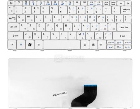 Клавиатура для ноутбука Acer Aspire One 532, 532h, AO532H, AOD532H, D255, D527, D260 Series, TopON TOP-90688 Белый