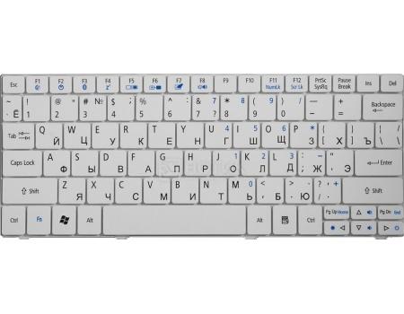 Клавиатура для ноутбука Acer One 751, 752, 753, 1410, 1810T, ZA5, Ferrari One Series, TopON TOP-81883 Белый
