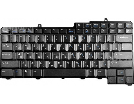 Клавиатура TopON для Dell Inspiron 6400 9400 630M 640M E1405 E1505 M1710 XPS M140 Series, TOP-81089 Черный