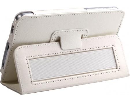 """Фотография товара чехол-подставка IT Baggage для планшета Samsung Galaxy Tab A 7"""" SM-T285/SM-T280, Искусственная кожа, Белый ITSSGTA70-0 (45689)"""
