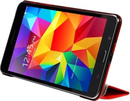 """Фотография товара чехол-подставка IT Baggage для планшета Samsung Galaxy Tab A 7"""" SM-T285/SM-T280, Искусственная кожа,Ультратонкий, Красный ITSSGTA7005-3 (45691)"""