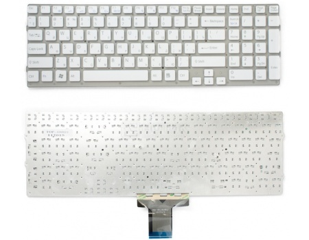 Клавиатура для ноутбука Sony Vaio VPC-EB Series, TopON TOP-100021 Белый vaio vpc eh2m1r w купить