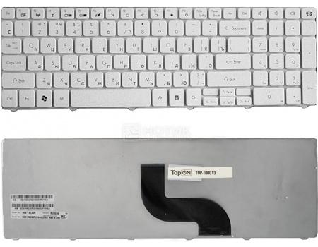Клавиатура для ноутбука Packard Bell TM81 TM86 TM87 TM89 TM94 TM98 Series, TopON TOP-100013 Белый
