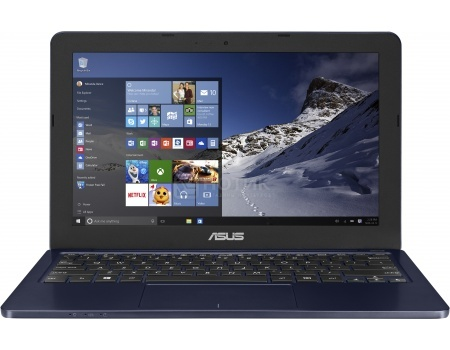 Ноутбук Asus E202SA (11.6 LED/ Pentium Quad Core N3700 1600MHz/ 2048Mb/ HDD 500Gb/ Intel HD Graphics 64Mb) MS Windows 10 Home (64-bit) [90NL0052-M00700]