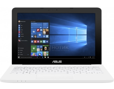 Ноутбук Asus E202SA (11.6 LED/ Pentium Quad Core N3700 1600MHz/ 2048Mb/ HDD 500Gb/ Intel HD Graphics 64Mb) MS Windows 10 Home (64-bit) [90NL0051-M00710]