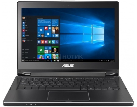 Ноутбук Asus VivoBook Flip TP301UA (13.3 LED/ Core i7 6500U 2500MHz/ 4096Mb/ HDD 500Gb/ Intel HD Graphics 520 64Mb) MS Windows 10 Home (64-bit) [90NB0AL1-M02040]