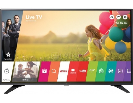 Телевизор LG 32 32LH604V, FHD, PMI 900, Smart TV, Черный