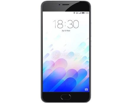 Смартфон Meizu M3 Note 16Gb Gray Black (Android 5.1/MT6755 1800MHz/5.5