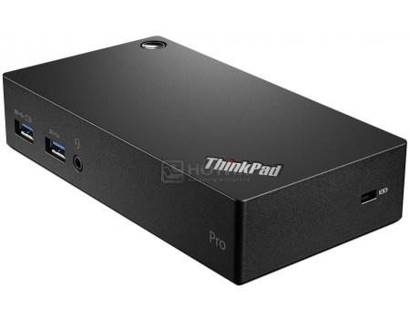 Купить док-станция для Lenovo ThinkPad USB 3.0 Pro Dock (HDMI, LAN, 2xUSB 2.0, 3xUSB 3.0, DisplayPort, DVI, Audio). Черный 40A70045EU (45764) в Москве, в Спб и в России