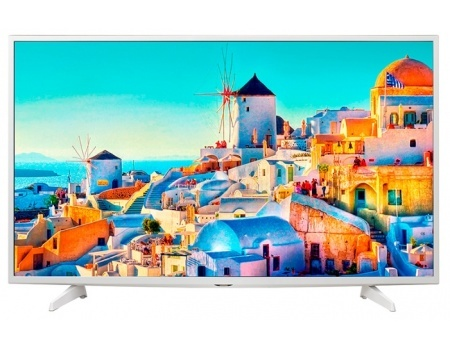 Телевизор LG 43 43UH619V IPS, Ultra HD (4K) Smart TV, PMI 1200 Белый телевизор lg 43uh619v