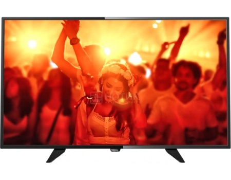 Телевизор Philips 40PFT4101/60, Full HD, PMR 200 Черный телевизор philips 32pht4100