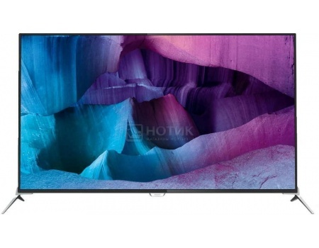 Телевизор Philips 65PUS8700/60, Ultra HD (4K), SmartTV, 3D, PMR 1400, Android 5.1 Черный/Серебристый