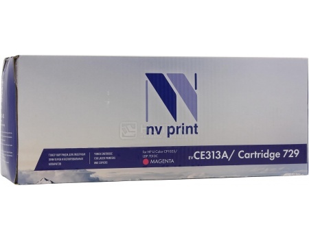 Картридж NV Print CE313A для HP CE311A/Canon729, LJ Color CP1025 Пурпурный