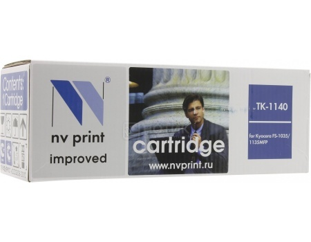 Картридж NV Print TK-1140 для Kyocera FS-1035MFP, 1135MFP, Черный
