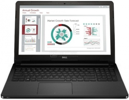 Ноутбук Dell Vostro 3558 (15.6 LED/ Core i3 5005U 2000MHz/ 4096Mb/ HDD 500Gb/ Intel HD Graphics 5500