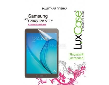 Защитная пленка LuxCase для Samsung Galaxy Tab A 9.7 (Суперпрозрачная), 81413 защитная плёнка для samsung galaxy s6 active суперпрозрачная luxcase