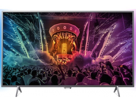 Телевизор Philips 32PFS6401/60, Full HD, SmartTV, PMR 1000, Android 5.1, Серебристый от Нотик