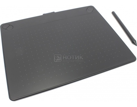 Графический планшет Wacom Intuos Comic Creative Pen and Touch Tablet M , Черный CTH-690CK-N от Нотик