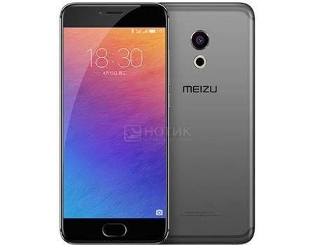Смартфон Meizu Pro 6 32Gb Gray Black (Android 6.0 (Marshmallow)/MT6797T 2500MHz/5.2