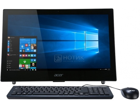 Моноблок Acer Aspire Z1-602 (18.5 LED/ Celeron Dual Core J3060 1600MHz/ 4096Mb/ HDD 500Gb/ Intel HD Graphics 400 64Mb) Free DOS [DQ.B3VER.002]