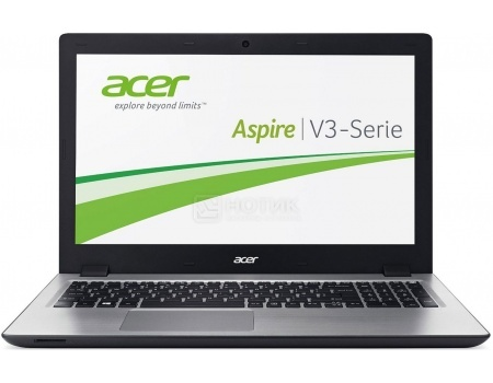 Ноутбук Acer Aspire V3-575G-74R3 (15.6 LED/ Core i7 6500U 2500MHz/ 12288Mb/ HDD 2000Gb/ NVIDIA GeForce GT 940M 4096Mb) MS Windows 10 Home (64-bit) [NX.G5FER.004]