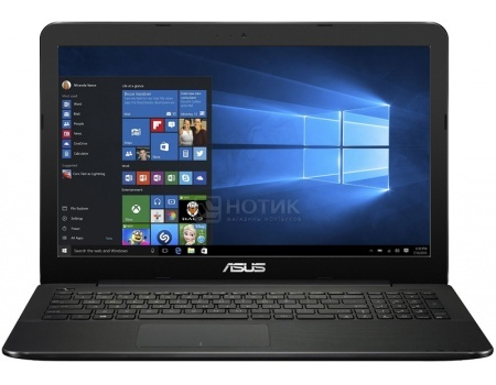 Ноутбук Asus X555YI (15.6 LED/ A6-Series A6-7310 2000MHz/ 4096Mb/ HDD 500Gb/ AMD Radeon R5 M230 1024Mb) MS Windows 10 Home (64-bit) [90NB09C8-M01520]