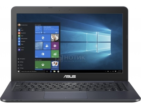 Ноутбук Asus E402SA-WX016T (14.0 LED/ Celeron Dual Core N3050 1600MHz/ 2048Mb/ SSD 32Gb/ Intel HD Graphics 64Mb) MS Windows 10 Home (64-bit) [90NB0B63-M00780]
