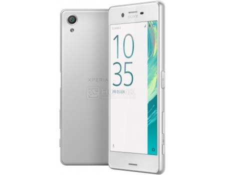 Смартфон Sony Xperia X Dual White (Android 6.0 (Marshmallow)/MSM8956 1800MHz/5.0