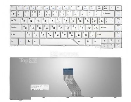 Клавиатура для ноутбука Acer Aspire 4220 4230 4310 4520 4710 4720 4900 5220 5230 5300 Series, TopON TOP-69711 Белый