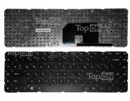 Клавиатура для ноутбука HP Pavilion DV6Z DV6T DV6-3000 DV6-3100 DV6-3300 Series, TopON TOP-81093 Черный , без рамки.