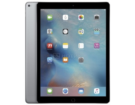 Планшет Apple iPad Pro 12.9 256Gb Wi-Fi Space Gray (iOS 9/A9X 2260MHz/12.9