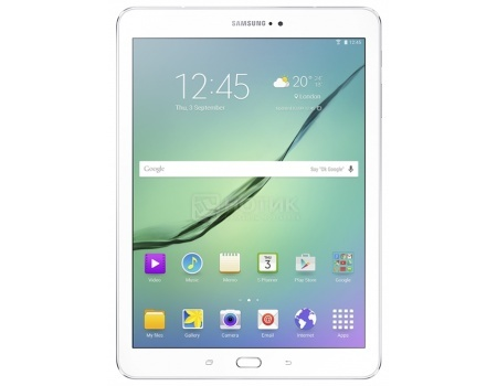 Планшет Samsung Galaxy TAB S2 9.7 SM-T819 32Gb White (Android 6.0 (Marshmallow)/Exynos Octa 5433 1900MHz/9.7 2048x1536/3072Mb/32Gb/4G LTE  ) [SM-T819NZWESER] samsung galaxy tab s2 9 7 sm t815nzweser lte 32gb white