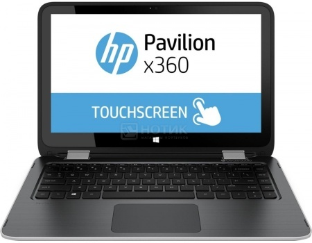 Ноутбук HP Pavilion x360 13-u001ur (13.3 IPS (LED)/ Core i3 6100U 2300MHz/ 4096Mb/ HDD 1000Gb/ Intel