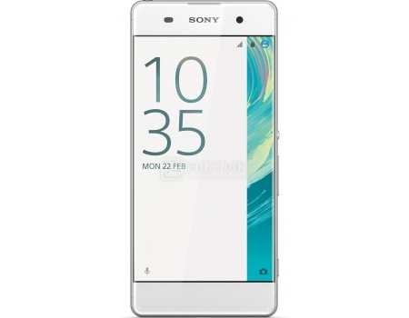 Смартфон Sony Xperia XA White (Android 6.0 (Marshmallow)/MT6755 2000MHz/5.0 1280x720/2048Mb/16Gb/4G LTE  ) [F3111White] смартфон sony xperia x compact white android 6 0 marshmallow msm8956 1800mhz 4 6 1280x720 3072mb 32gb 4g lte [f5321white]