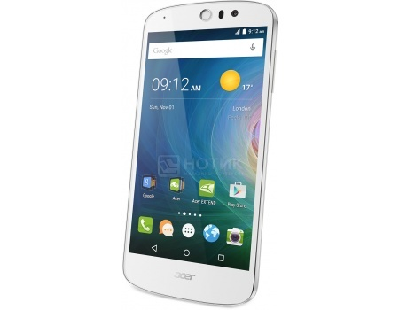 "Смартфон Acer Liquid Z530 16Gb White (Android 5.1/MT6735 1300MHz/5.0"" (1280x720)/2048Mb/16Gb/4G LTE ) [HM.HQYEU.002] от Нотик"