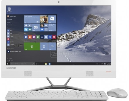 Моноблок Lenovo IdeaCentre 300-23 (23.0 IPS (LED)/ Pentium Dual Core 4405U 2100MHz/ 4096Mb/ HDD 1000Gb/ NVIDIA GeForce GT 920A 2048Mb) MS Windows 10 Home (64-bit) [F0BY00D4RK]