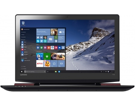 Ноутбук Lenovo IdeaPad Y700-17 (17.3 IPS (LED)/ Core i7 6700HQ 2600MHz/ 16384Mb/ HDD+SSD 1000Gb/ NVIDIA GeForce® GTX 960M 4096Mb) MS Windows 10 Home (64-bit) [80Q00019RK]Lenovo<br>17.3 Intel Core i7 6700HQ 2600 МГц 16384 Мб DDR4-2133МГц HDD+SSD 1000 Гб MS Windows 10 Home (64-bit), Черный<br>